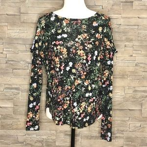 H&M multicolour long-sleeved top